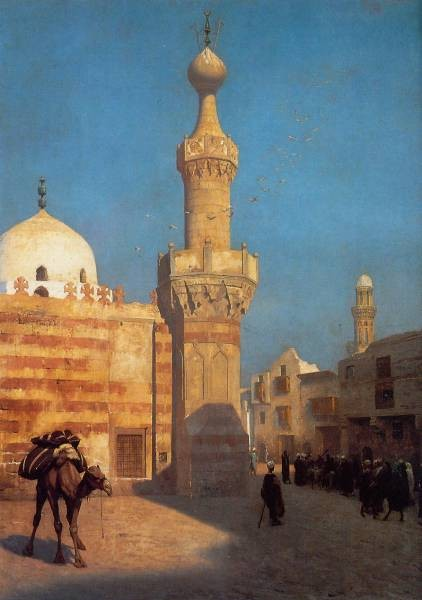 View of Cairo undated